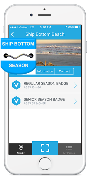 Ship Bottom Beach Badges on your Mobile Device